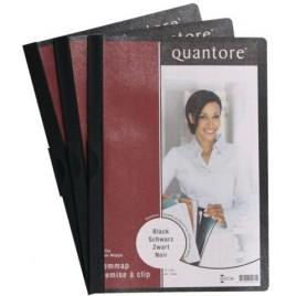 Klemmap Quantore A4 3mm zwart
