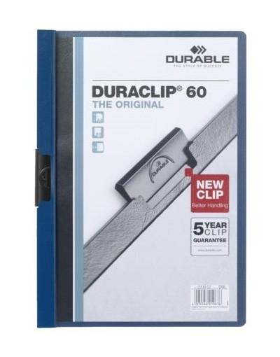 Klemmap Durable 2209 A4 6mm lichtblauw