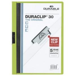 Klemmap Durable 2200 A4 3mm donkerblauw