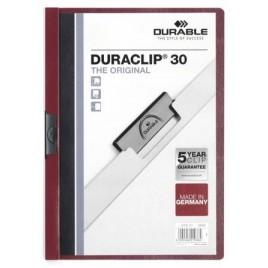Klemmap Durable 2200 A4 3mm geel