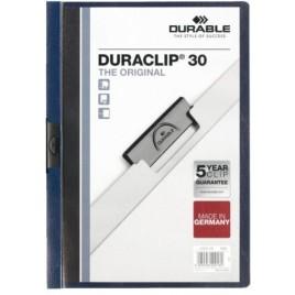 Klemmap Durable 2200 A4 3mm antraciet