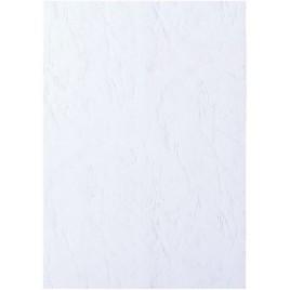 Voorblad GBC A4 lederlook wit 100stuks