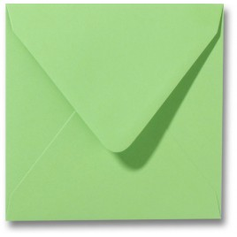 Envelop Roma 14 x 14 cm - 50 stuks - Kanariegeel