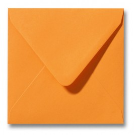 Envelop Roma 14 x 14 cm - 50 stuks - Goudgeel