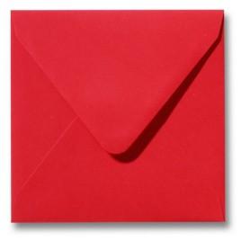 Envelop Roma 14 x 14 cm - 50 stuks - Donkeroranje