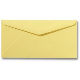 Envelop Roma 11 x 22 cm - 50 stuks - Zachtgeel