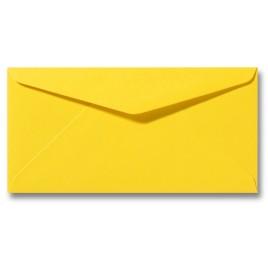Envelop Roma 11 x 22 cm - 50 stuks - Kanariegeel