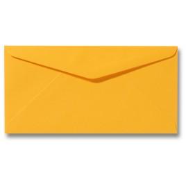 Envelop Roma 11 x 22 cm - 50 stuks - Boterbloemgeel