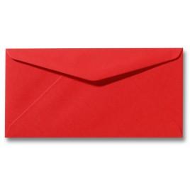 Envelop Roma 11 x 22 cm - 50 stuks - Donkeroranje