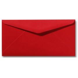 Envelop Roma 11 x 22 cm - 50 stuks - Koraalrood