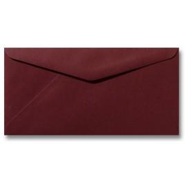 Envelop Roma 11 x 22 cm - 50 stuks - Pioenrood