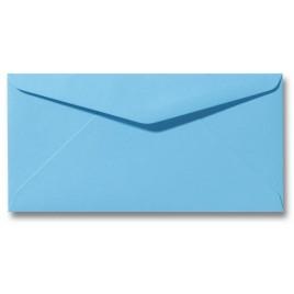 Envelop Roma 11 x 22 cm - 50 stuks - Lagunablauw