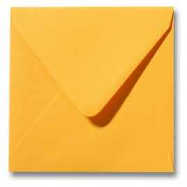 Envelop Roma 16 x 16 cm - 50 stuks - Boterbloemgeel