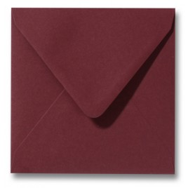 Envelop Roma 16 x 16 cm - 50 stuks - Pioenrood