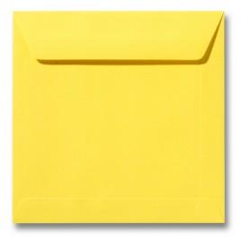 Envelop Roma 22 x 22 cm - 50 stuks - Kanariegeel