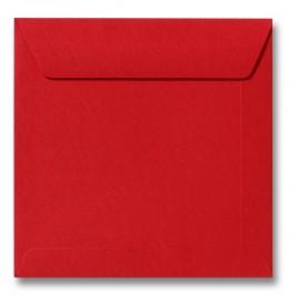 Envelop Roma 22 x 22 cm - 50 stuks - Koraalrood