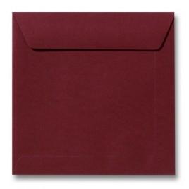 Envelop Roma 22 x 22 cm - 50 stuks - Pioenrood