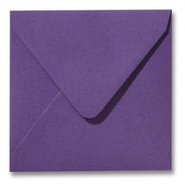 Envelop Roma 16 x 16 cm - 50 stuks - Metallic Violet