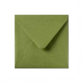 Envelop Roma 16 x 16 cm - 50 stuks - Metallic Groen