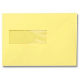 Envelop - 156 x 220 - Venster Links - Zachtgeel