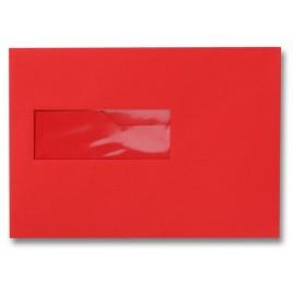 Envelop - 156 x 220 - Venster Links - Donkeroranje