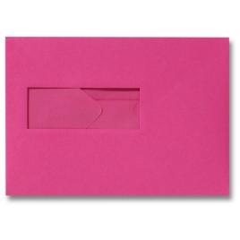 Envelop - 156 x 220 - Venster Links - Donkerrose