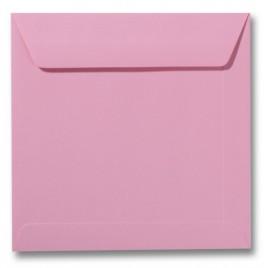 Envelop - Roma - 17 x 17 cm - 50 stuks - Donkerrose