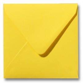 Envelop Roma 12 x 12 cm - 50 stuks - Kanariegeel