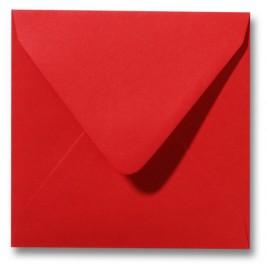 Envelop Roma 12 x 12 cm - 50 stuks - Koraalrood