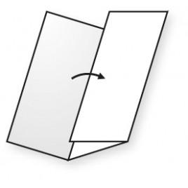 3 - Luik - Color Copy - Silk - 135 g/m2 - A4 - voorzien van 2 vouwlijnen