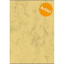 Perkament papier - Chamois - voorzien van 1 vouwlijn - A4 - 200 g/m2
