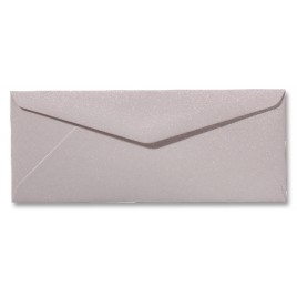 Envelop Metallic - 11 x 22 cm - 50 stuks - Metallic Ivoor
