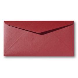 Envelop Metallic - 11 x 22 cm - 50 stuks - Metallic Orange