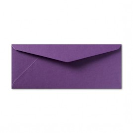 Envelop Metallic - 11 x 22 cm - 50 stuks - Metallic Violet