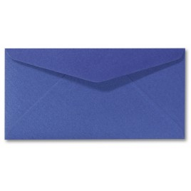 Envelop Metallic - 11 x 22 cm - 50 stuks - Metallic Purple