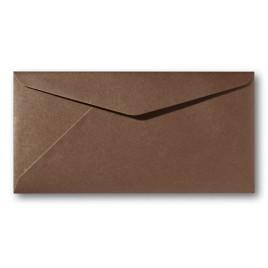 Envelop Metallic - 11 x 22 cm - 50 stuks - Metallic Brons