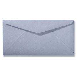 Envelop Metallic - 11 x 22 cm - 50 stuks - Metallic Platinum