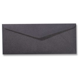 Envelop Metallic - 11 x 22 cm - 50 stuks - Metallic Silver