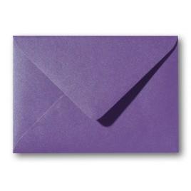 Envelop Metallic  - 11 x 15,6 cm - 50 stuks - Metallic  Red