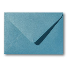 Envelop Metallic  - 11 x 15,6 cm - 50 stuks - Metallic  Blue