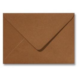 Envelop Metallic  - 11 x 15,6 cm - 50 stuks - Metallic  Olijf