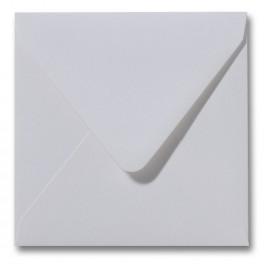 Envelop Metallic  - 16 x 16  cm - 50 stuks - Metallic  Extra wit