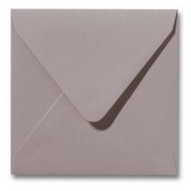 Envelop Metallic - 16 x 16 cm - 50 stuks - Metallic Ivoor