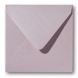 Envelop Metallic - 16 x 16 cm - 50 stuks - Metallic Caramel