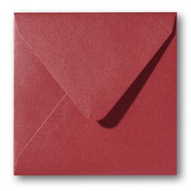 Envelop Metallic - 16 x 16 cm - 50 stuks - Metallic Orange