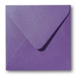 Envelop Metallic - 16 x 16 cm - 50 stuks - Metallic Red