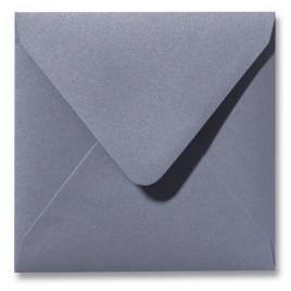 Envelop Metallic - 16 x 16 cm - 50 stuks - Metallic Platinum