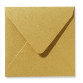 Envelop Metallic - 12 x 12 cm - 50 stuks - Wit