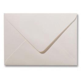 Envelop - Roma - 12 x 18  cm - 50 stuks - Metallic  Wit