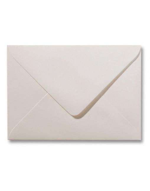 Envelop Roma 12 X 18 Cm 50 Stuks Metallic Ivoor Papier
